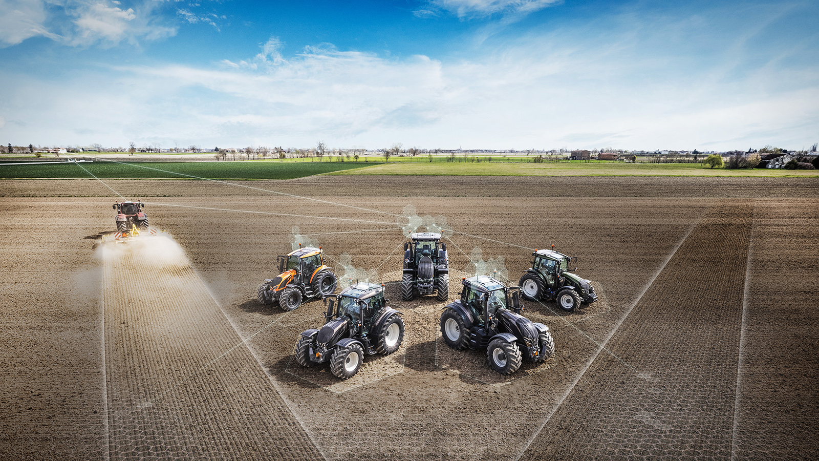 Valtra 2021 Product launch front page hero image full 5th generation tractors fleet model range