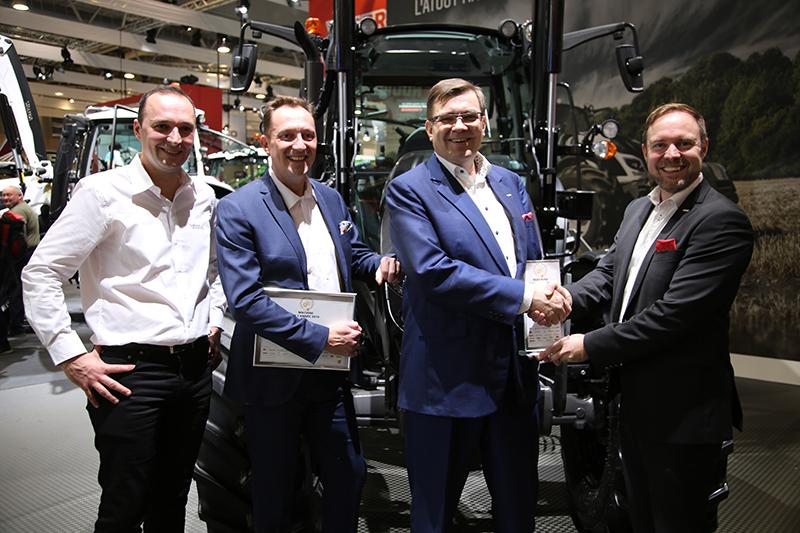 Valtra A-Serie ist Maschine des Jahres 2019 auf der SiMA 2019. Herzlichen Glückwunsch!